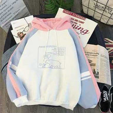 Load image into Gallery viewer, Hoodies Women Autumn Winter Trendy Korean Style Simple Casual Harajuku All-match High Quality Soft Loose Womens Clothing Chic