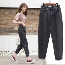 Load image into Gallery viewer, Jeans Women Spring Summer Trendy Korean Style Simple All-match Kawaii Harajuku Streetwear High Quality Ulzzang Womens Trousers