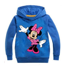 Load image into Gallery viewer, Cartoon Minnie Mickey New Baby Girls Sweatshirts Spring Autumn Children Hoodies Long Sleeves Leisure Sweater Kid T-shirt Clothes