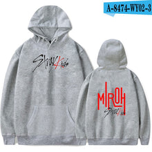 Load image into Gallery viewer, FRDUN TOMMY Stray kids MIROH Hoodies Sweatshirt Streetwear High Street Hoodies Kpop Stray kid Album Outwear Pullovers Sweatshirt
