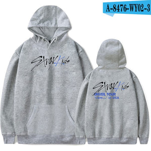 FRDUN TOMMY Stray kids MIROH Hoodies Sweatshirt Streetwear High Street Hoodies Kpop Stray kid Album Outwear Pullovers Sweatshirt
