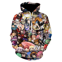 Load image into Gallery viewer, Sweaty Face Ahegao 3D Print winter Anime Casual Hoody Sweatshirt Men Tracksuit Hoodies Pullover Streetwear Jacket DropShip