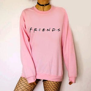 Autumn Winter Loose Thick Knit Harajuku Love Printed Sweatshirt Female Hooded Pullover Tops Women Hoodies Casual Female Clothes