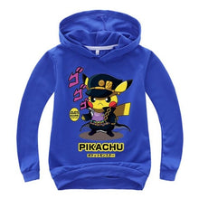 Load image into Gallery viewer, Pokemon Go baby boys hoodies clothes kids sweatshirts cartoon toys hoodie Children's Clothing boy girls Christmas hoodie costume