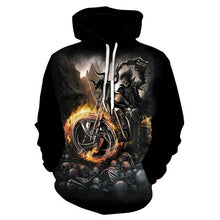 Load image into Gallery viewer, 2018 New 3D Hoodies Men Melted Skull 3D Full Print Novelty Hoody Sweatshirt Fashion Pullover Tracksuits Harajuku Tops Drop Ship