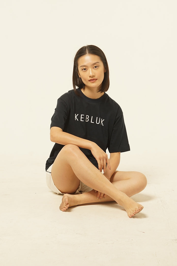Kebluk T-shirt in Navy