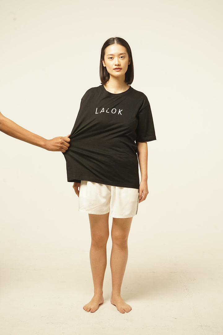 Lalok T-shirt in Black