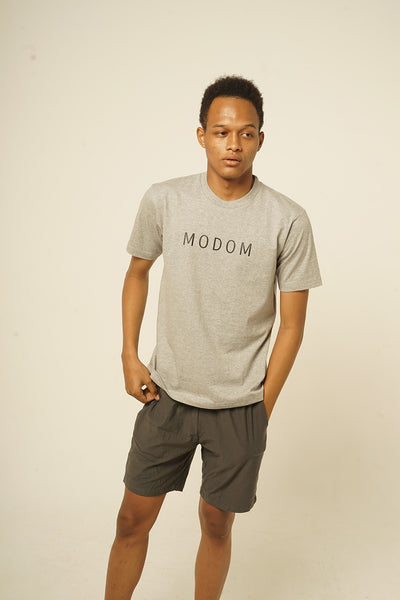 Modom T-Shirt in Grey