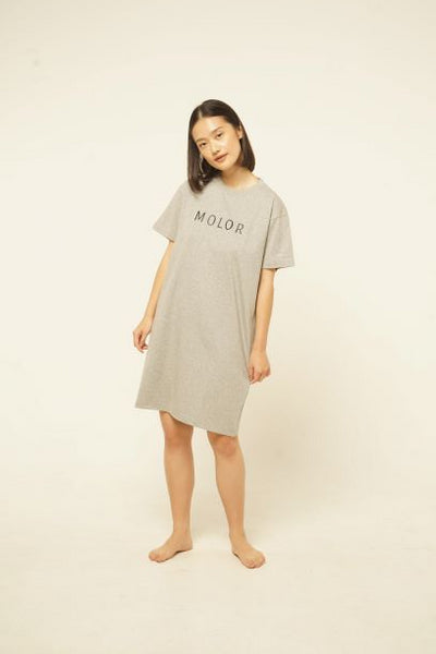 Molor T-Shirt Nightdress in Grey