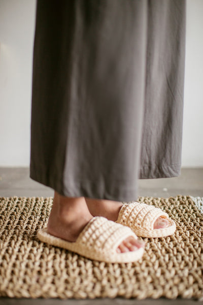 Phussa Home Slipper in Creme