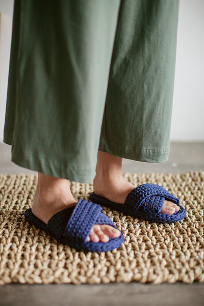 Kassapa Home Slipper in Navy