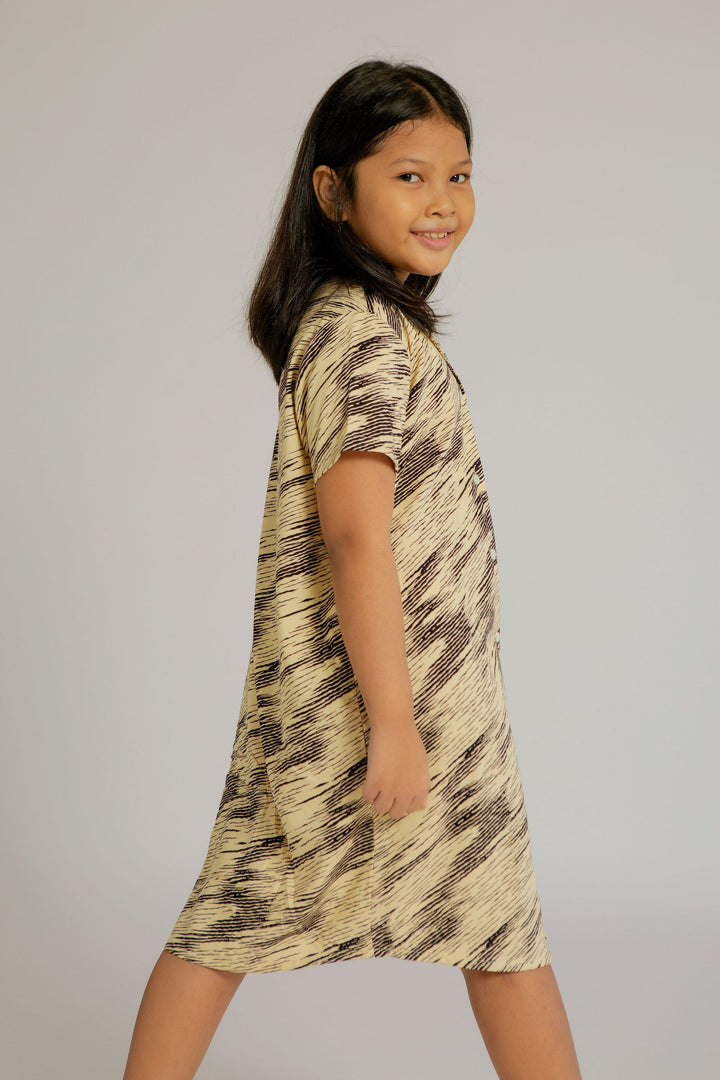 Maje Kids Rayon Pajama Nighdress in Zebra