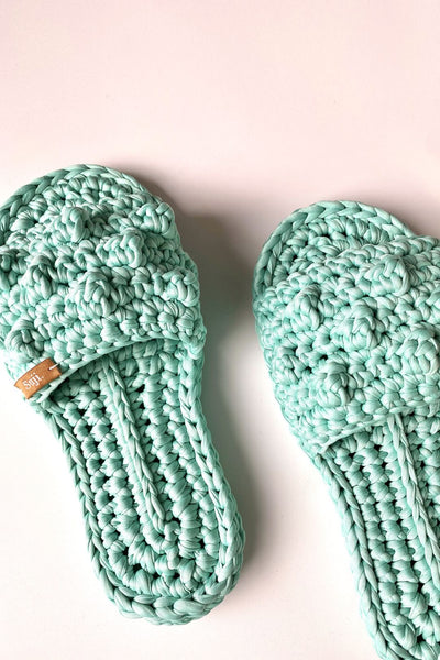 Chaaya Home Slipper in Turquoise