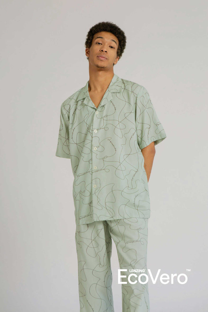 Mappi Men Short Sleeve Top in SS Line