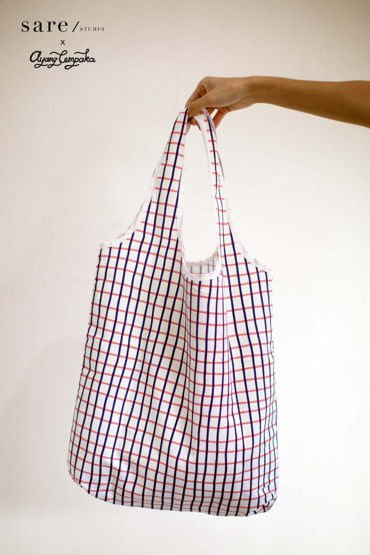 Tala Foldable Bag In Checker