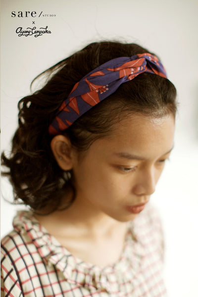 Natia Headband In Clove