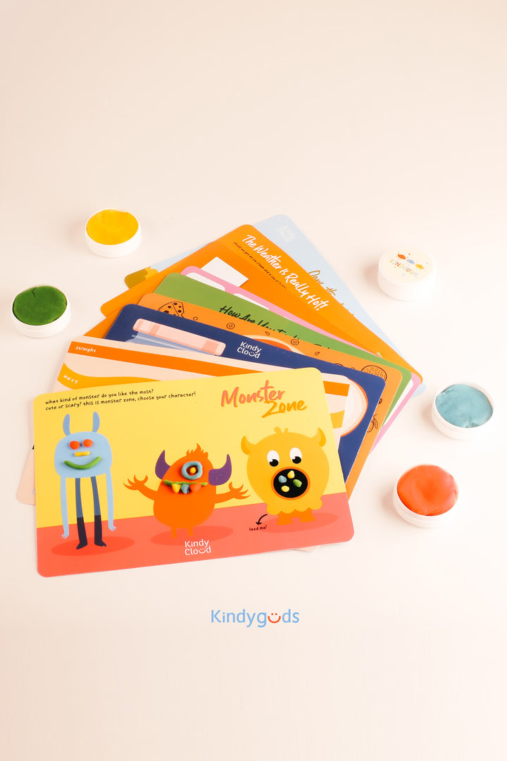 Play Dough Learning Playmat for 6mos+