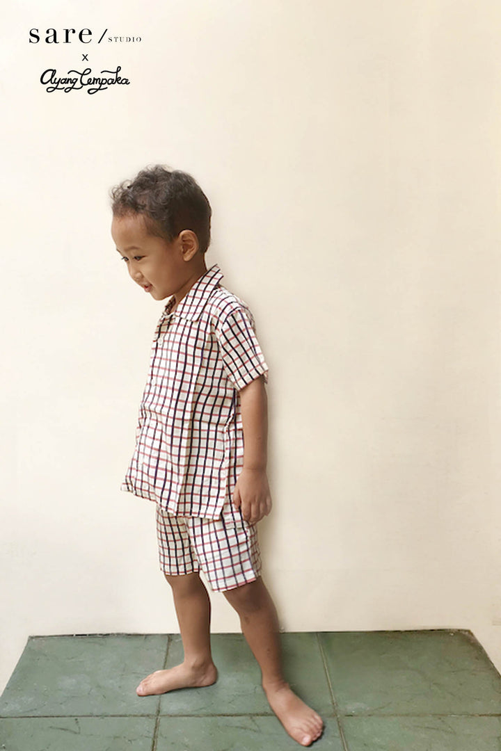 Mappi Mariri Kids Set in Checker