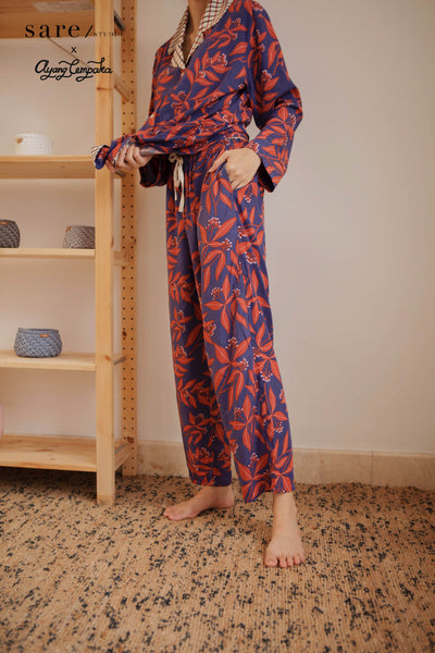 PARIGI Rayon Pants in Clove