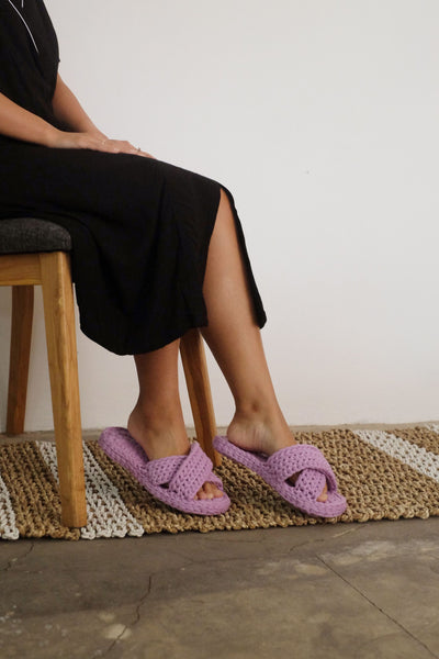 Kassapa Home Slipper in Lilac