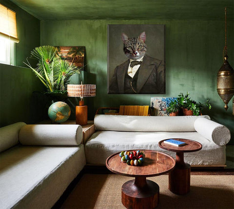 Image of cat wall art