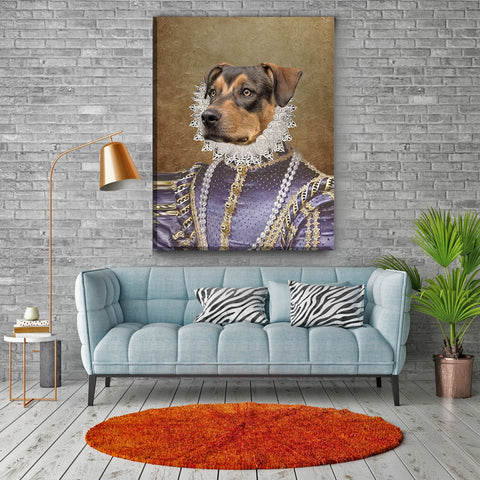 Image of La-Pet Queen // Custom Pet Portrait