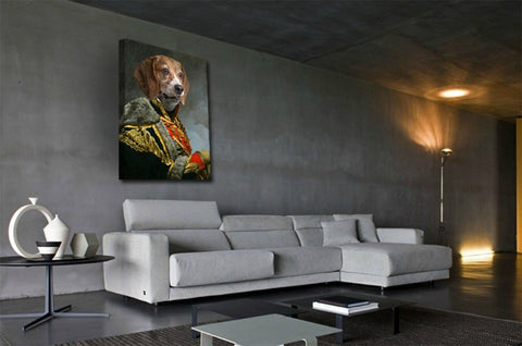 Image of King Pet-Edward VII // Custom Pet Portrait