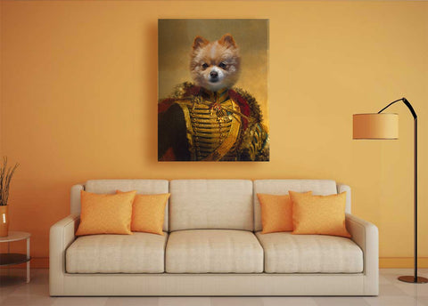 Image of Fieldmarshal puppy art
