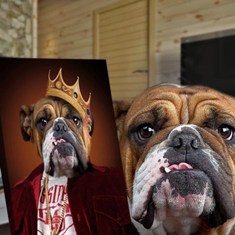 Image of Notorious D.O.G // Custom Pet Portrait