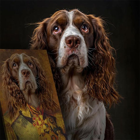 Image of Count Pet-De-Vere // Custom Pet Portrait