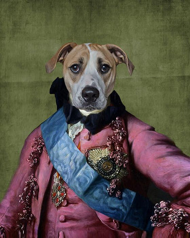 Image of custom pet portraits