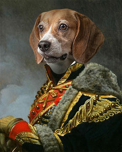 King Pet-Edward VII // Custom Pet Portrait