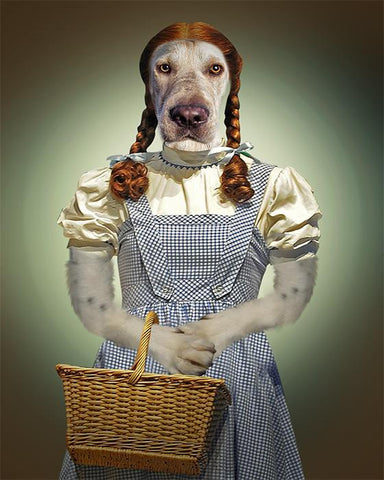 dorothy dog portrait