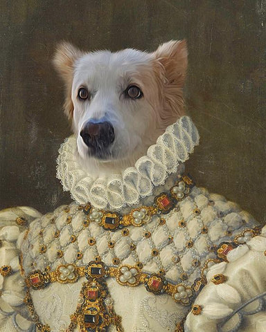 furry dog art