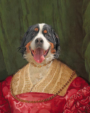 Image of Lady-Pet // Custom Pet Portrait