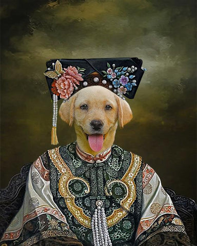 Image of empress dog portrait