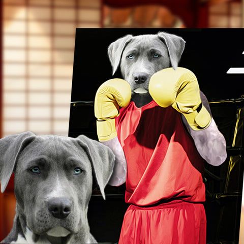 Image of Pet-Boxer // Custom Pet Portrait