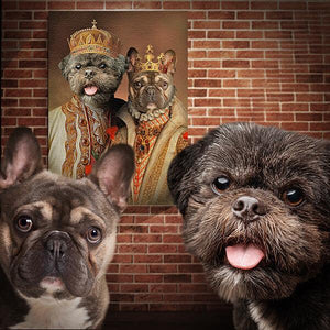 royal pet dog print
