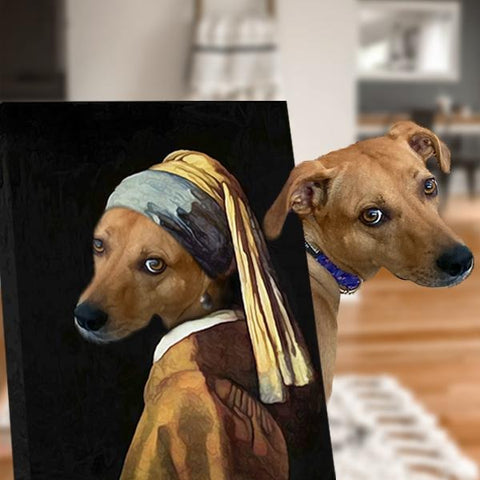 Image of medieval dog paintings