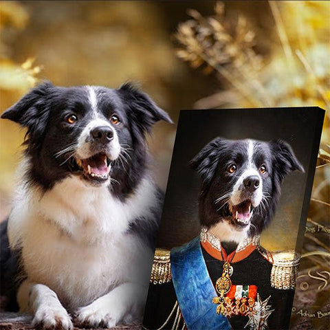 Image of Duke Pet-Bourbon // Custom Pet Portrait