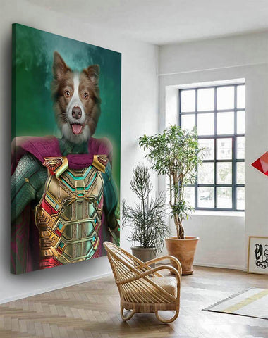 Image of Mysterio wall art print canvas