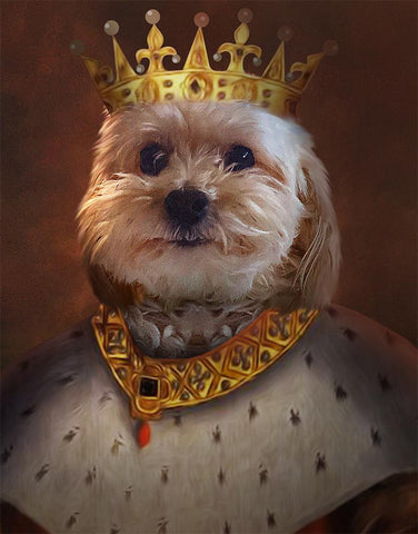 Image of king puppies print