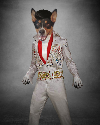 Image of Elvis-Pet // Custom Pet Portrait