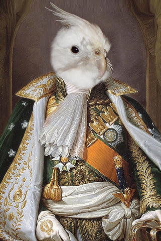 Na-Pet-Leon Bonaparte // Custom Pet Portrait