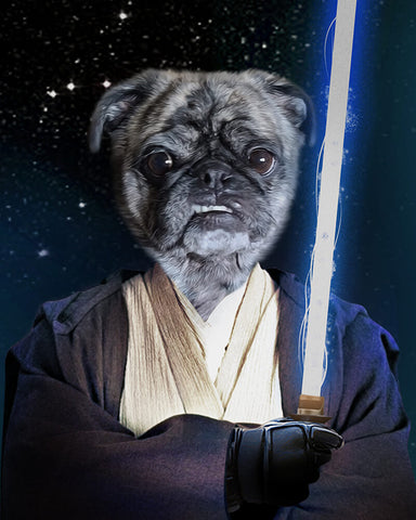 Image of dog jedi picture