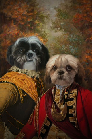 Pet-Brothers // Custom Pet Portrait