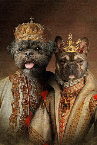 royal dog painting