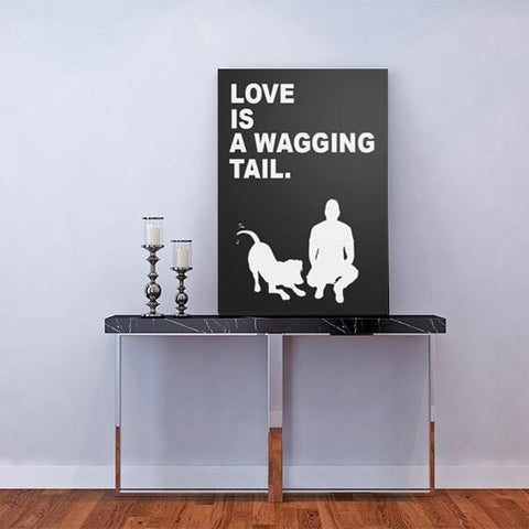 Love is a wagging tail