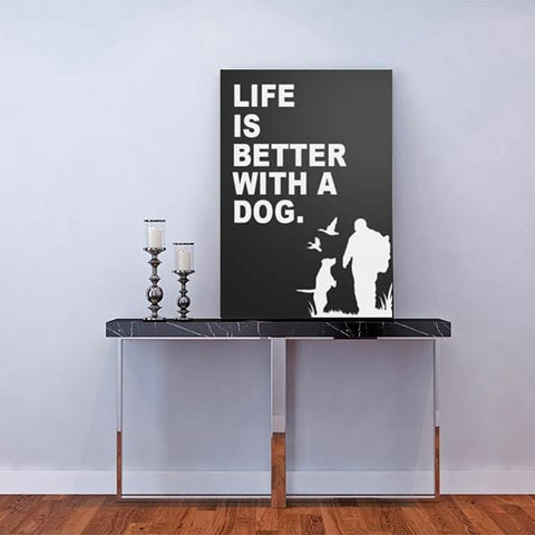 Image of Life is better with a dog