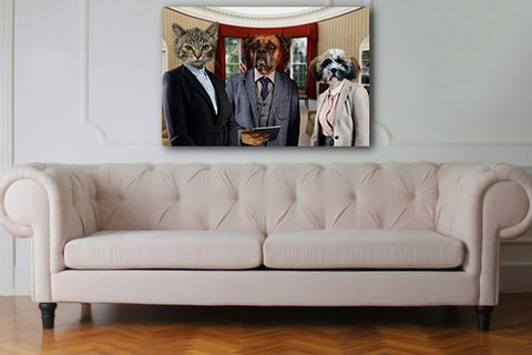 dog wall art portrait
